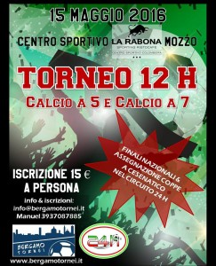 Tornei calcio a 7 Bergamo